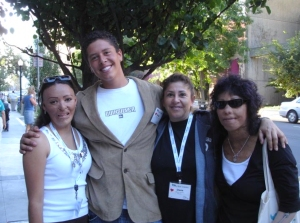 Lili (far right) with fellow World Burn Congress 2006 Attendees