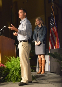 Lionel and Joanna Crowther share their story together as keynote speakers at WBC 2013